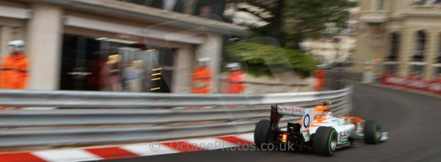 World © Octane Photographic Ltd. F1 Monaco GP, Monte Carlo - Saturday 25th May - Qualifying. Sahara Force India VJM06 - Adrian Sutil. Digital Ref : 0708lw7d8686