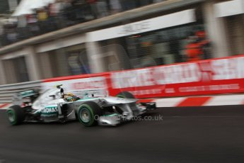 World © Octane Photographic Ltd. F1 Monaco GP, Monte Carlo - Saturday 25th May - Qualifying. Mercedes AMG Petronas F1 W04 – Lewis Hamilton. Digital Ref : 0708lw7d8697