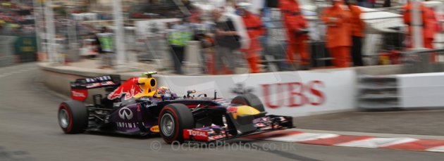 World © Octane Photographic Ltd. F1 Monaco GP, Monte Carlo - Saturday 25th May - Qualifying. Infiniti Red Bull Racing RB9 - Mark Webber. Digital Ref : 0708lw7d8761
