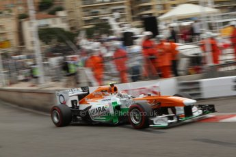 World © Octane Photographic Ltd. F1 Monaco GP, Monte Carlo - Saturday 25th May - Qualifying. Sahara Force India VJM06 - Adrian Sutil. Digital Ref : 0708lw7d8815