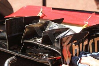 World © 2013 Octane Photographic Ltd. F1 Monaco GP, Monte Carlo -Thursday 23rd May 2013 - Practice 1. Lotus F1 Team - Lotus E21 front wing body work. Digital Ref : 0692cb7d0808
