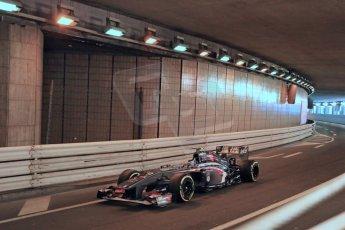 World © 2013 Octane Photographic Ltd. F1 Monaco GP, Monte Carlo -Thursday 23rd May 2013 - Practice 1. Sauber C32, Esteban Gutierrez. Digital Ref : 0692lw1d6726