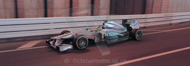 World © 2013 Octane Photographic Ltd. F1 Monaco GP, Monte Carlo -Thursday 23rd May 2013 - Practice 1. Mercedes AMG Petronas F1 W04 - Nico Rosberg. Digital Ref : 0692lw1d6862