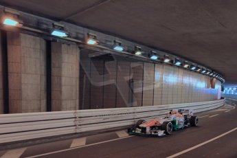 World © 2013 Octane Photographic Ltd. F1 Monaco GP, Monte Carlo -Thursday 23rd May 2013 - Practice 1. Force India, Adrian Sutil. Digital Ref : 0692lw1d6878