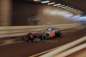 World © 2013 Octane Photographic Ltd. F1 Monaco GP, Monte Carlo - Thursday 23rd May 2013 - Practice 1. Vodafone McLaren Mercedes MP4/28 - Sergio Perez . Digital Ref : 0692lw1d6927