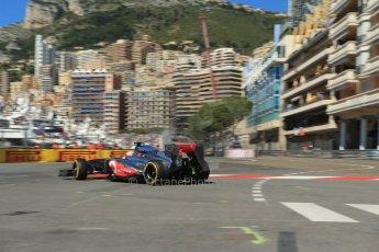 World © 2013 Octane Photographic Ltd. F1 Monaco GP, Monte Carlo - Thursday 23rd May 2013 - Practice 1. Vodafone McLaren Mercedes MP4/28 - Jenson Button. Digital Ref :  0692lw1d6993