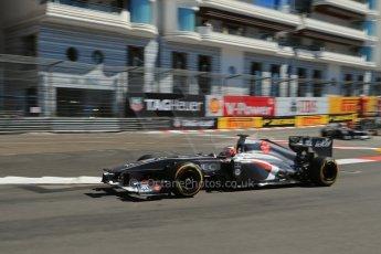 World © 2013 Octane Photographic Ltd. F1 Monaco GP, Monte Carlo -Thursday 23rd May 2013 - Practice 1. Sauber C32 - Nico Hulkenberg. Digital Ref : 0692lw1d7117