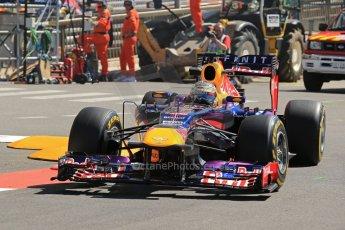 World © 2013 Octane Photographic Ltd. F1 Monaco GP, Monte Carlo -Thursday 23rd May 2013 - Practice 1. Infiniti Red Bull Racing RB9 - Sebastian Vettel. Digital Ref : 0692lw1d7158