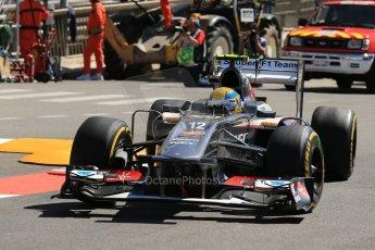 World © 2013 Octane Photographic Ltd. F1 Monaco GP, Monte Carlo -Thursday 23rd May 2013 - Practice 1. Sauber C32, Esteban Gutierrez. Digital Ref : 0692lw1d7209