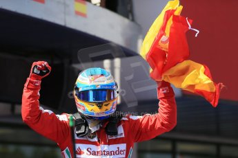 World © 2013 Octane Photographic Ltd. F1 Spanish GP, Circuit de Catalunya - Sunday 12th May 2013 - Race. Scuderia Ferrari F138 - Fernando Alonso. Digital Ref : 0674cb1d2781
