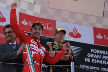 World © 2013 Octane Photographic Ltd. F1 Spanish GP, Circuit de Catalunya - Sunday 12th May 2013 - Race. Scuderia Ferrari F138 - Fernando Alonso. Digital Ref : 0674cb1d2896