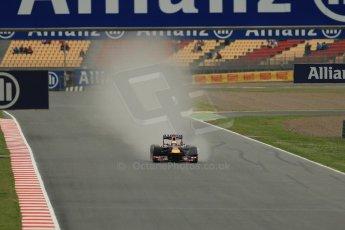World © Octane Photographic Ltd. F1 Spanish GP, Circuit de Catalunya, Friday 10th May 2013. Practice 1. Infiniti Red Bull Racing - Sebastian Vettel. Digital Ref : 0659cb1d0058