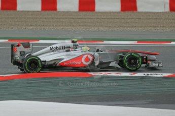 World © Octane Photographic Ltd. F1 Spanish GP, Circuit de Catalunya, Friday 10th May 2013. Practice 1. Sergio Perez - Vodafone McLaren Mercedes MP4/28. Digital Ref : 0659cb1d8903