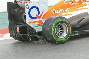 World © Octane Photographic Ltd. F1 Spanish GP, Circuit de Catalunya, Friday 10th May 2013. Practice 1. Paul di Resta - Sahara Force India. Digital Ref : 0659cb1d9206