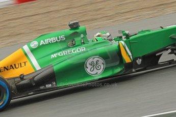 World © Octane Photographic Ltd. F1 Spanish GP, Circuit de Catalunya, Friday 10th May 2013. Practice 1. Caterham CT03 - Heikki Kovalainen. Digital Ref : 0659cb7d8805