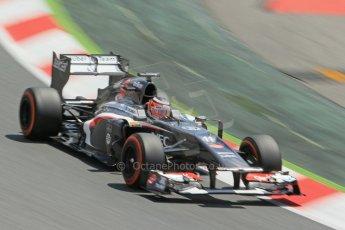 World © 2013 Octane Photographic Ltd. F1 Spanish GP, Circuit de 0673cb1d2545Catalunya - Sunday 12th May 2013 - Race. Sauber C32 - Nico Hulkenberg. Digital Ref :