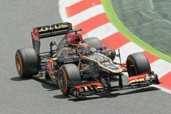 World © 2013 Octane Photographic Ltd. F1 Spanish GP, Circuit de Catalunya - Sunday 12th May 2013 - Race. Lotus F1 Team E21 - Kimi Raikkonen. Digital Ref : 0673cb1d2591