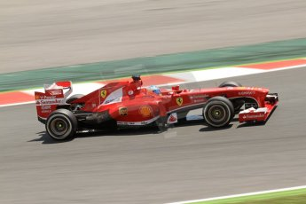 World © 2013 Octane Photographic Ltd. F1 Spanish GP, Circuit de Catalunya - Sunday 12th May 2013 - Race. Scuderia Ferrari F138 - Fernando Alonso. Digital Ref : 0673cb7d9316