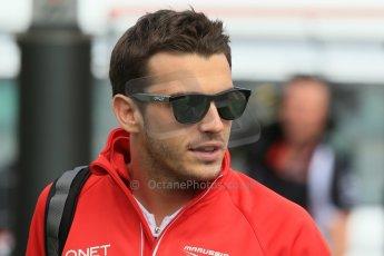World © Octane Photographic Ltd. F1 Spanish GP - Saturday Paddock - 11th May 2013. Jules Bianci - Marussia. Digital Ref : 0668cb1d0058