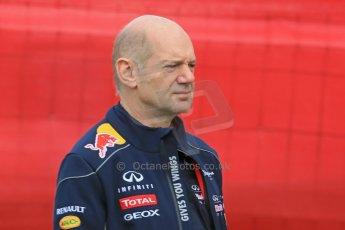 World © Octane Photographic Ltd. F1 Spanish GP - Saturday Paddock - 11th May 2013. Adrian Newey - Infiniti Red Bell Racing. Digital Ref : 0668cb1d0131