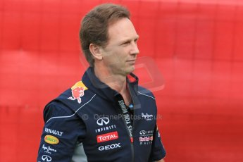 World © Octane Photographic Ltd. F1 Spanish GP - Saturday Paddock - 11th May 2013. Christian Horner - Infiniti Red Bull Racing. Digital Ref : 0668cb1d0142