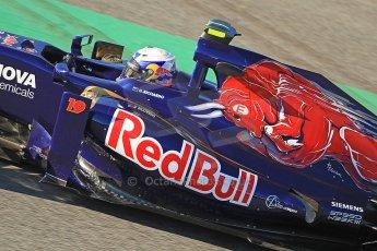 World © Octane Photographic Ltd. Formula 1 Winter Test Jerez – Day 1 – Tuesday 5th February 2013. Toro Rosso STR8, Daniel Ricciardo. Digital Ref: 0571cb7d2346