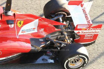 World © Octane Photographic Ltd. Formula 1 Winter Test Jerez – Day 1 – Tuesday 5th February 2013. Ferrari F138 exhaust detail – Felipe Massa. Digital Ref: 0571cb7d6557