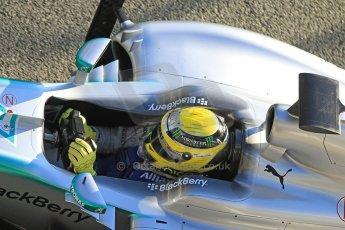 World © Octane Photographic Ltd. Formula 1 Winter Test Jerez – Day 1 – Tuesday 5th February 2013. Mercedes AMG Petronas F1 W04 – Nico Rosberg. Digital Ref: 0571cb7d6565
