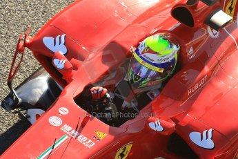 World © Octane Photographic Ltd. Formula 1 Winter Test Jerez – Day 1 – Tuesday 5th February 2013. Ferrari F138 – Felipe Massa. Digital Ref: 0571cb7d6659