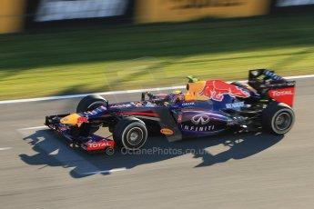 World © Octane Photographic Ltd. Formula 1 Winter Test Jerez – Day 1 – Tuesday 5th February 2013. Infiniti Red Bull Racing RB9. Mark Webber. Digital Ref: 0571cb7d6682