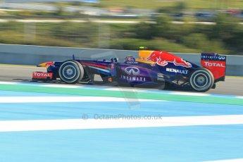 World © Octane Photographic Ltd. Formula 1 Winter Test Jerez – Day 1 – Tuesday 5th February 2013.Infiniti Red Bull RacingRB9. Mark Webber. . Digital Ref: 0571cb7d6742
