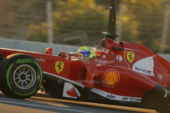 World © Octane Photographic Ltd. Formula 1 Winter Test Jerez – Day 1 – Tuesday 5th February 2013. Ferrari F138 – Felipe Massa. Digital Ref: 0571lw1d7572