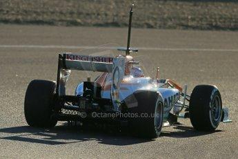 World © Octane Photographic Ltd. Formula 1 Winter Test Jerez – Day 1 – Tuesday 5th February 2013. World © Octane Photographic Ltd. Formula 1 Winter testing, Jerez, 5th February 2013. Sahara Force India VJM06 – Paul di Resta. Digital Ref: 0571lw1d7810