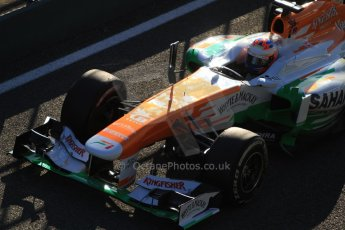 World © Octane Photographic Ltd. Formula 1 Winter testing, Jerez, 6th February 2013, morning sessions. Sahara Force India VJM06 – Paul di Resta. Digital Ref: 0572cb7d6919