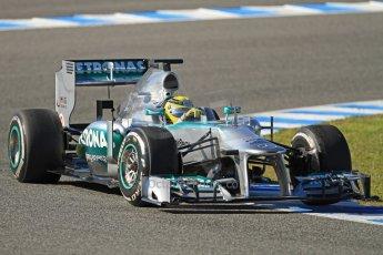 World © Octane Photographic Ltd. Formula 1 Winter testing, Jerez, 7th February 2013. Mercedes AMG Petronas F1 W04, Nico Rosberg. Digital Ref: 0573cb7d2400