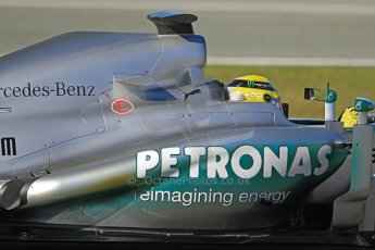 World © Octane Photographic Ltd. Formula 1 Winter testing, Jerez, 7th February 2013. Mercedes AMG Petronas F1 W04, Nico Rosberg. Digital Ref: 0573cb7d2403