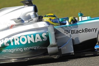 World © Octane Photographic Ltd. Formula 1 Winter testing, Jerez, 7th February 2013. Mercedes AMG Petronas F1 W04, Nico Rosberg. Digital Ref: 0573cb7d2427