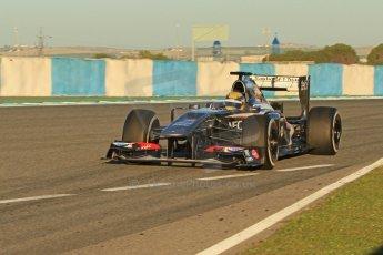 World © Octane Photographic Ltd. Formula 1 Winter testing, Jerez, 7th February 2013. Sauber C32, Esteban Gutierrez. Digital Ref: 0573cb7d7142