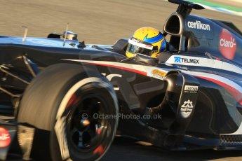 World © Octane Photographic Ltd. Formula 1 Winter testing, Jerez, 7th February 2013. Sauber C32, Esteban Gutierrez. Digital Ref: 0573cb7d7145