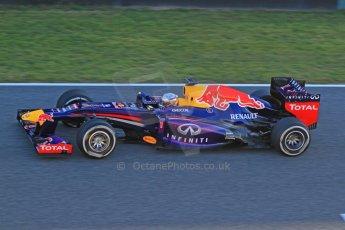 World © Octane Photographic Ltd. Formula 1 Winter testing, Jerez, 7th February 2013. Infiniti Red Bull Racing RB9, Sebastian Vettel. Digital Ref: 0573cb7d7236