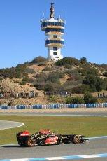 World © Octane Photographic Ltd. Formula 1 Winter testing, Jerez, 7th February 2013. Lotus E31, Kimi Raikkonen. Digital Ref: 0573cb7d7307