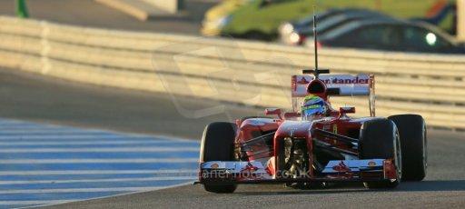 World © Octane Photographic Ltd. Formula 1 Winter testing, Jerez, 7th February 2013. Ferrari F138 – Felipe Massa. Digital Ref: 0573lw1d8906
