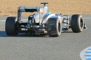 World © Octane Photographic Ltd. Formula 1 Winter testing, Jerez, 7th February 2013. Sauber C32, Esteban Gutierrez. Digital Ref: 0573lw1d9179