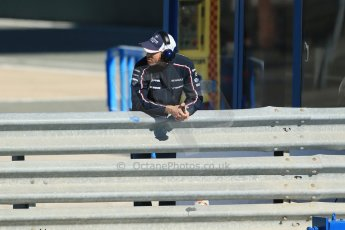 World © Octane Photographic Ltd. Formula 1 Winter testing, Jerez, 5th February 2013. Williams, Pastor Maldonado. Digital Ref: 0573lw1d9299