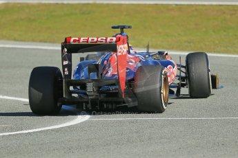 World © Octane Photographic Ltd. Formula 1 Winter testing, Jerez, 7th February 2013. Toro Rosso STR8, Jean-Eric Vergne. Digital Ref: 0573lw1d9374