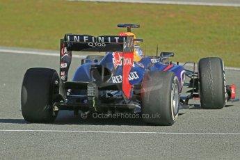 World © Octane Photographic Ltd. Formula 1 Winter testing, Jerez, 7th February 2013. Infiniti Red Bull Racing RB9, Sebastian Vettel. Digital Ref: 0573lw1d9510