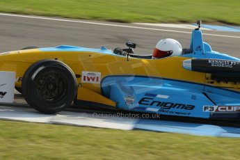 World © Octane Photographic Ltd. MSV F3 Cup, Donington Park, Qualifying 28th September 2013. Enigma Motorsport, Dallara F301 Renault Sodemo, Olly Rae. Digital Ref : 0832lw1d8937
