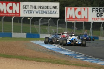 World © Octane Photographic Ltd. BRDC Formula 4 (F4) Race 1, Donington Park 28th September 2013. Digital Ref : 0833lw1d9672