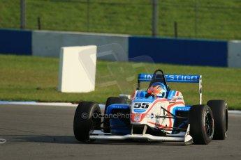 World © Octane Photographic Ltd. BRDC Formula 4 (F4) Race 1, Donington Park 28th September 2013. MSVF4-13, HHC Motorsport, Charlie Robertson. Digital Ref : 0833lw1d9791