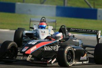 World © Octane Photographic Ltd. BRDC Formula 4 (F4) Race 1, Donington Park 28th September 2013. MSVF4-13, SWR (Sean Walkinshaw Racing), Jack Barlow. Digital Ref : 0833lw1d9825